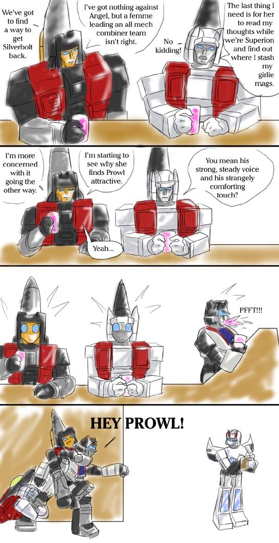 TF: Arielbot Minds by Ty-Chou