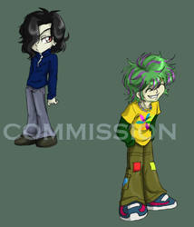 Chibi commission set 3