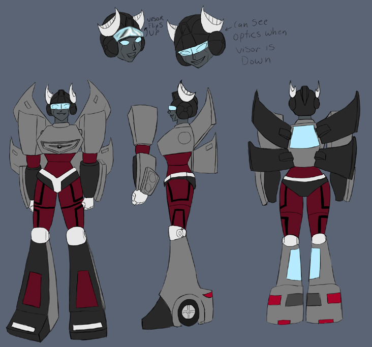 Character Design Major : Ase forums transformers the dark era