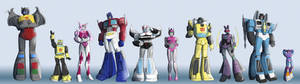 Transformers Height Chart