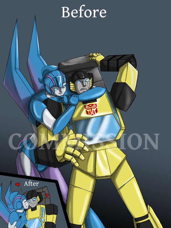 Sunstreaker and Rogue by Ty-Chou on DeviantArt