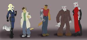SK: Masks Character designs