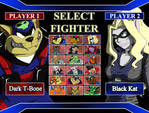 Swat Kats Selection Screen