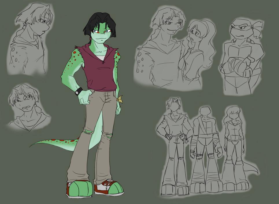 TMNT: Mondo Gecko design by Ty-Chou