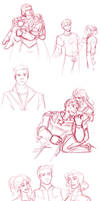 Avengers Sketches