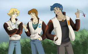RW: Letterman Jackets by Ty-Chou