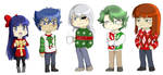 Ugly Christmas Sweaters- Warlord Version by Ty-Chou