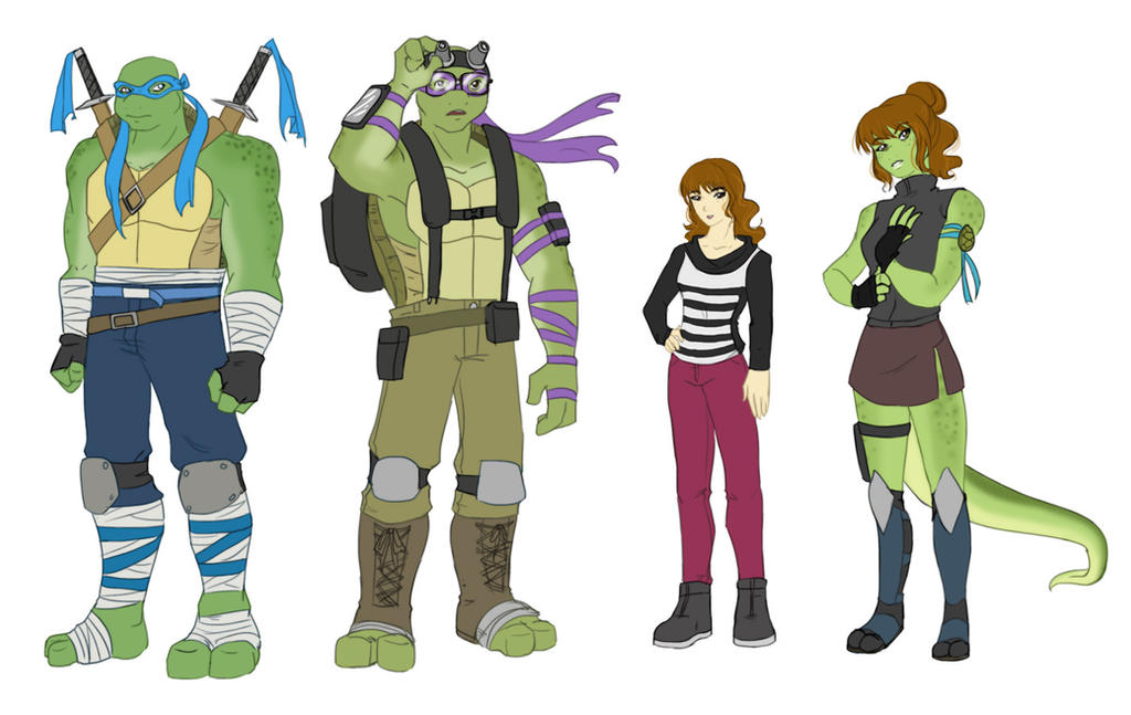 TMNT Movie Designs by Ty-Chou