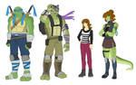 TMNT Movie Designs by Ty-Chou