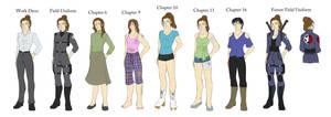 Avengers: Marcy's Wardrobe