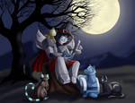 Commission: Halloween Stories by Ty-Chou