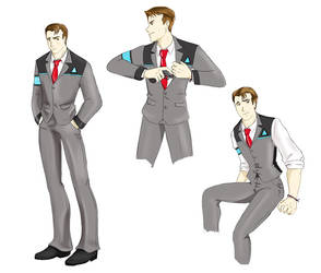 DBH: Bodyguard!Connor Design by Ty-Chou