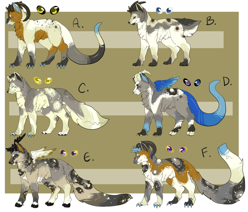 FOR SALE Dragif X Darcy Litter by EnchantedAdopts