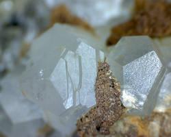 Trigonal calcite crystals by PetrINFJ