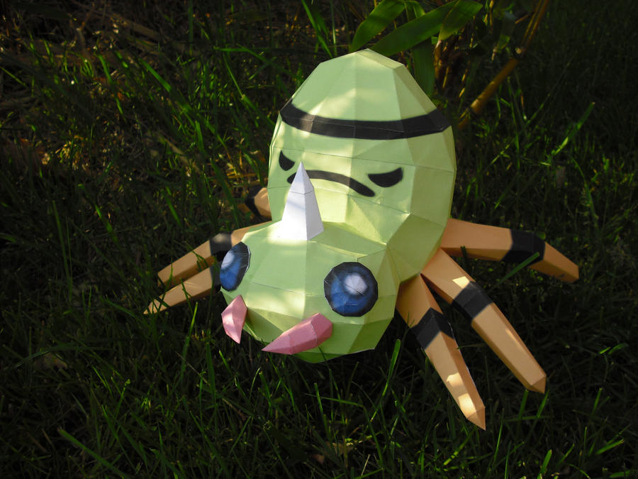 Spinarak papercraft by TimBauer92