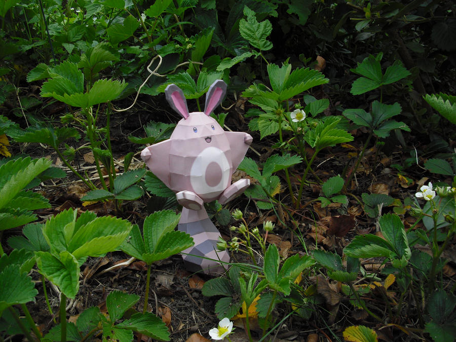 Sentret papercraft by TimBauer92