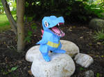 Totodile papercraft