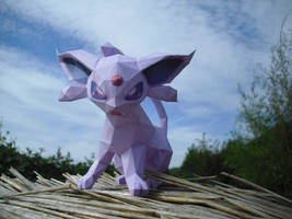 Espeon papercraft by TimBauer92