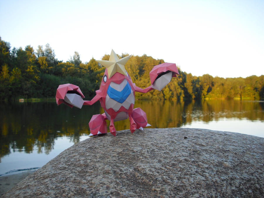 Crawdaunt papercraft by TimBauer92