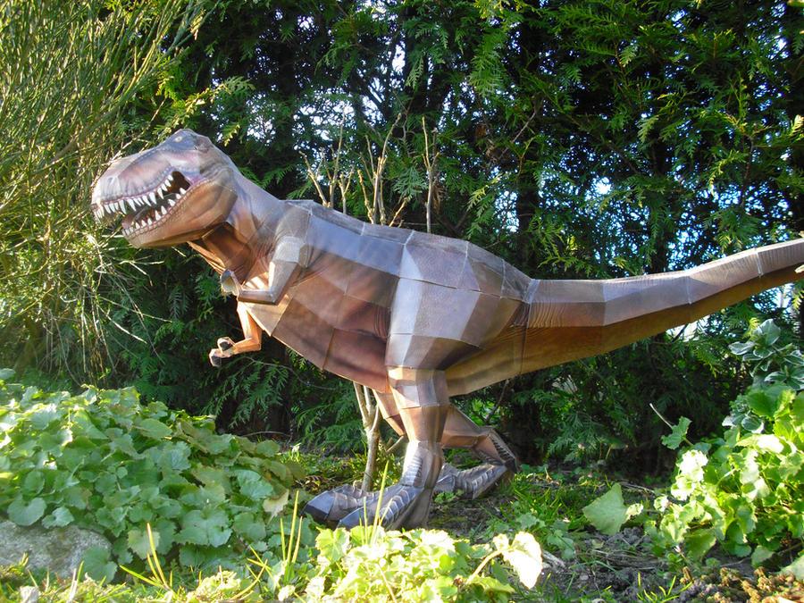 Tyrannosaurus papercraft by TimBauer92