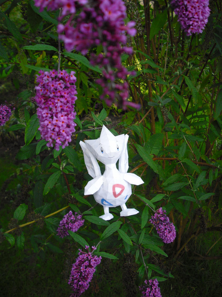 Togetic papercraft by TimBauer92