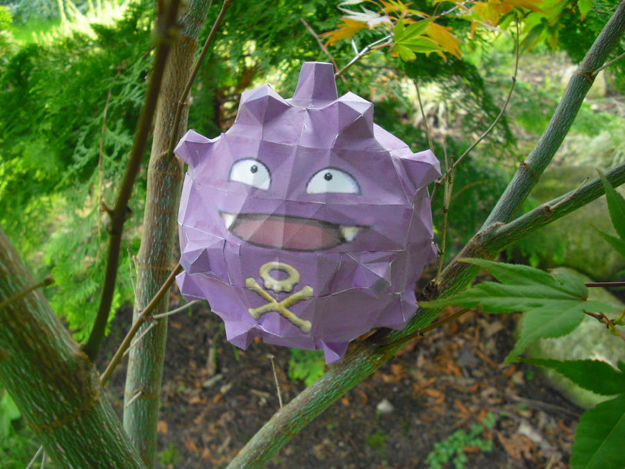 Koffing papercraft by TimBauer92