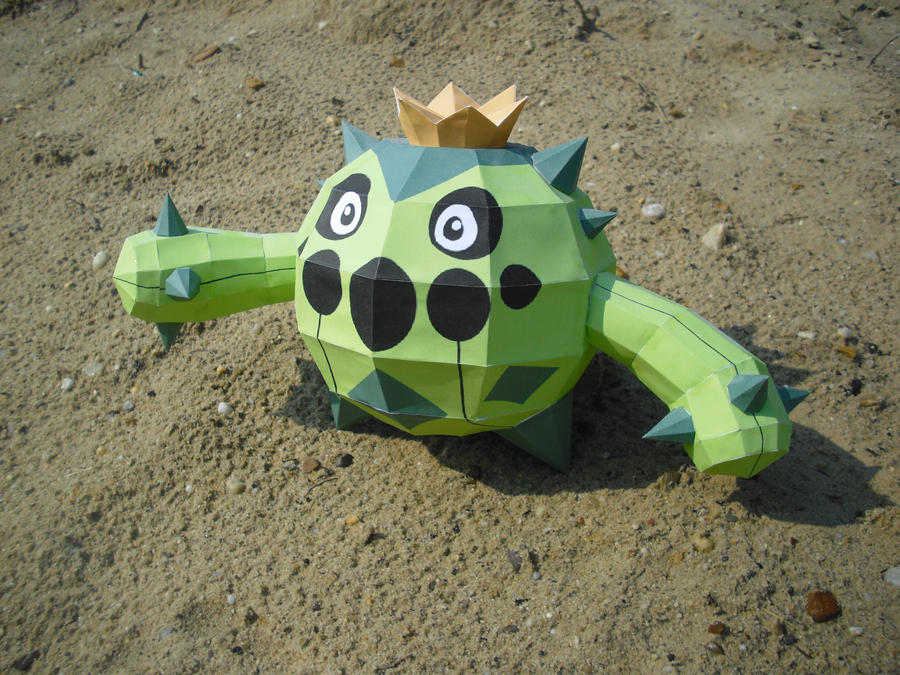 Cacnea papercraft by TimBauer92