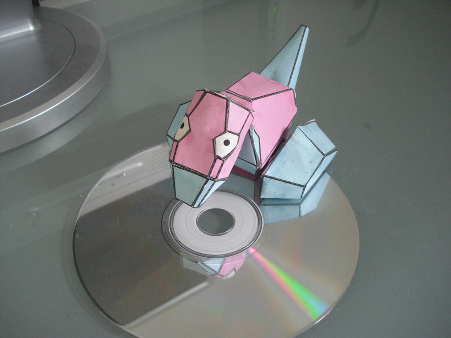 Porygon papercraft by TimBauer92