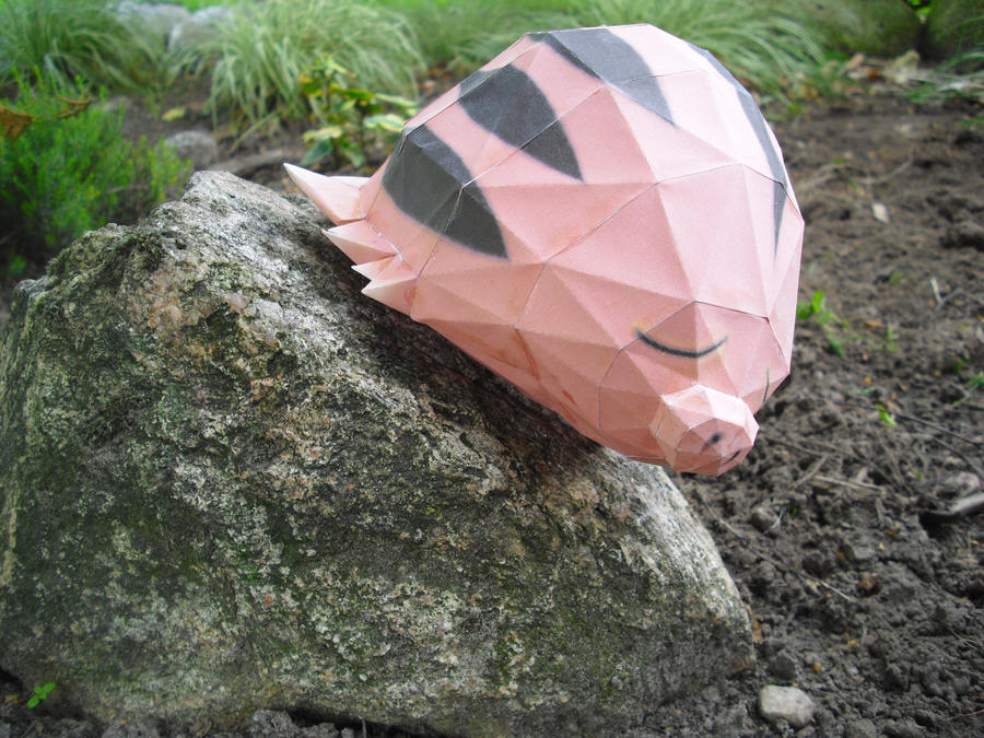 Swinub papercraft by TimBauer92