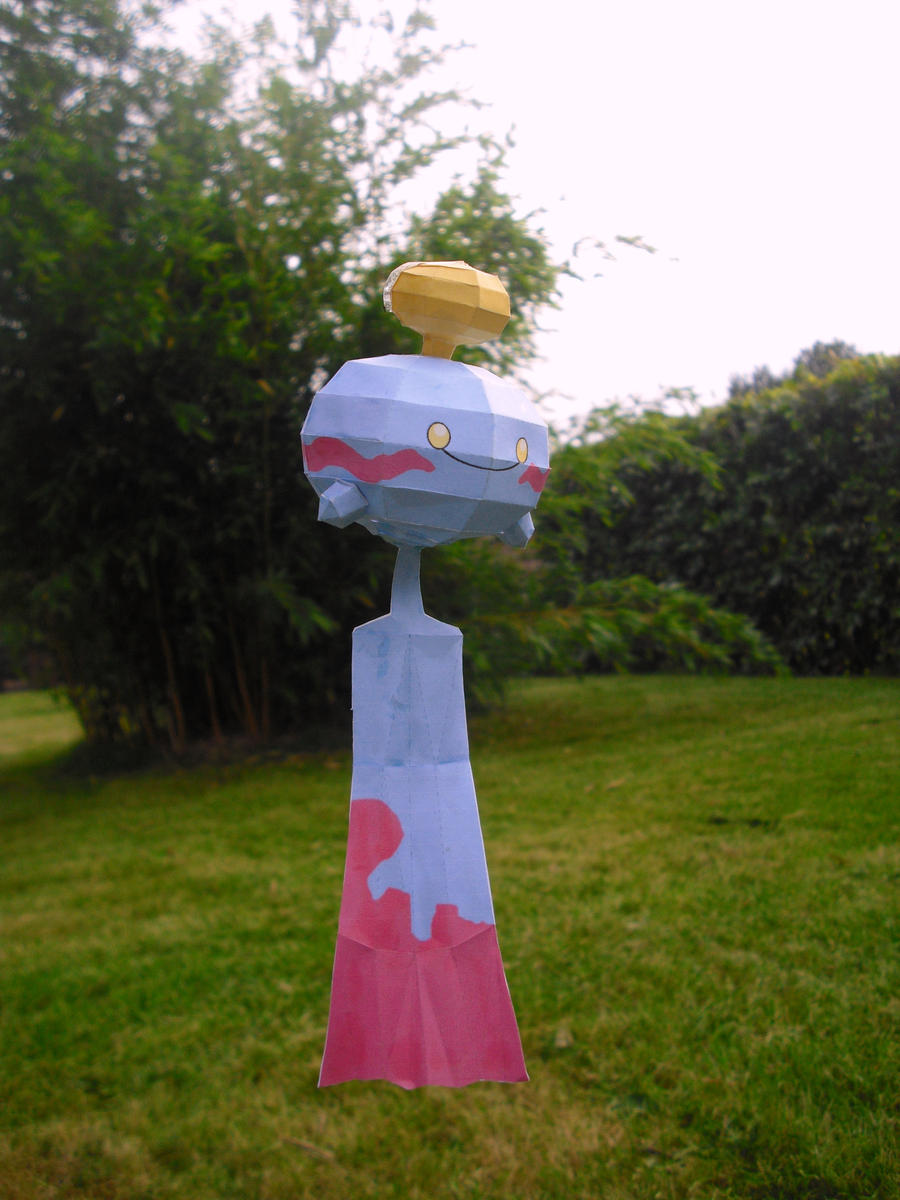 Chimecho papercraft by TimBauer92