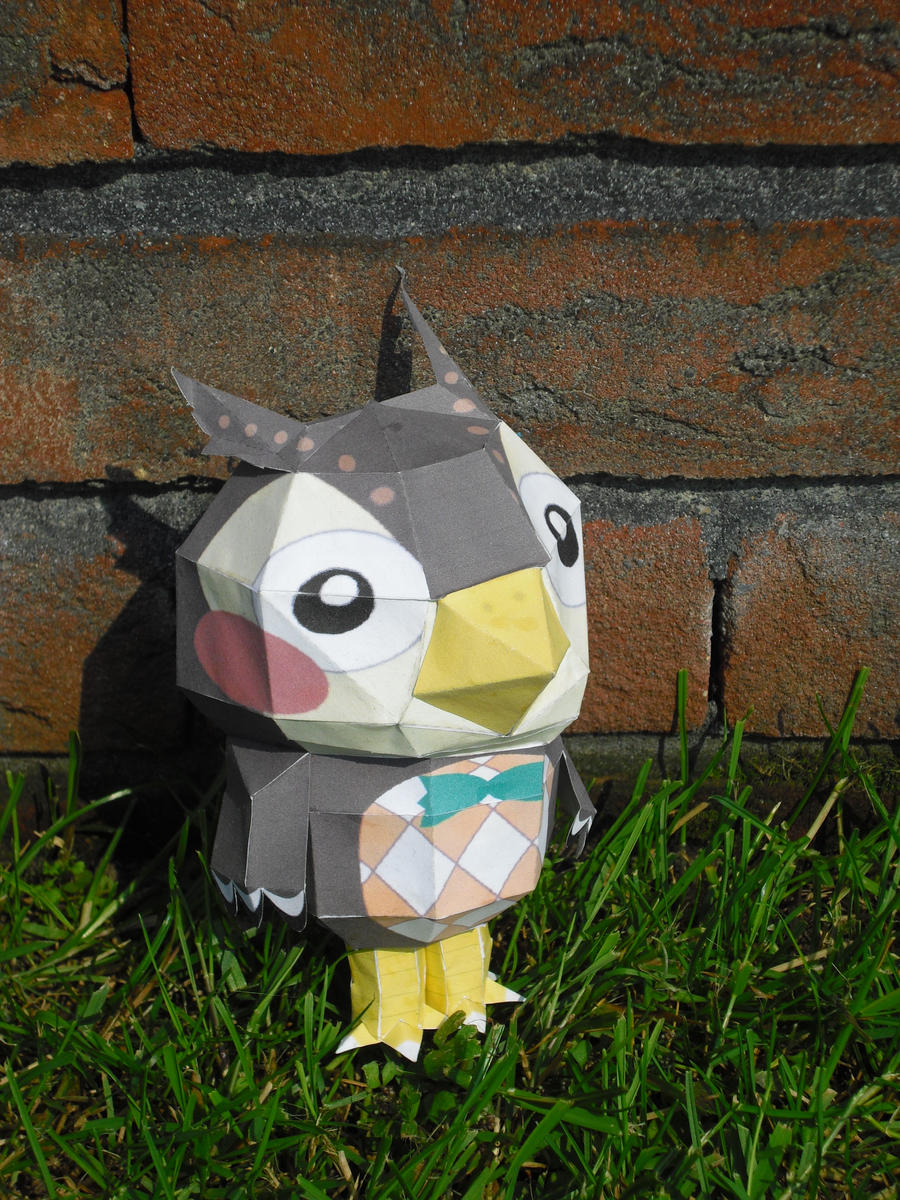 Blathers papercraft by TimBauer92