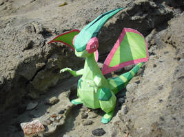 Flygon papercraft by TimBauer92