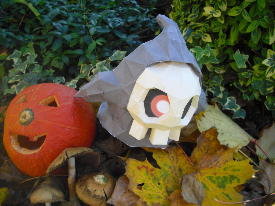 Duskull papercraft by TimBauer92