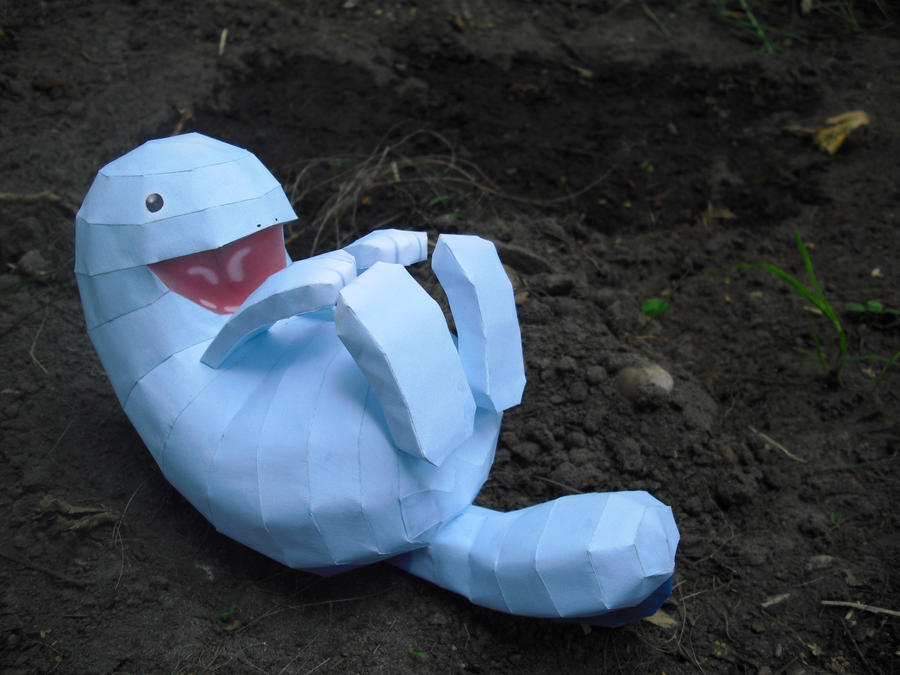 Quagsire Papercraft by TimBauer92