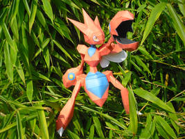 Scizor papercraft by TimBauer92