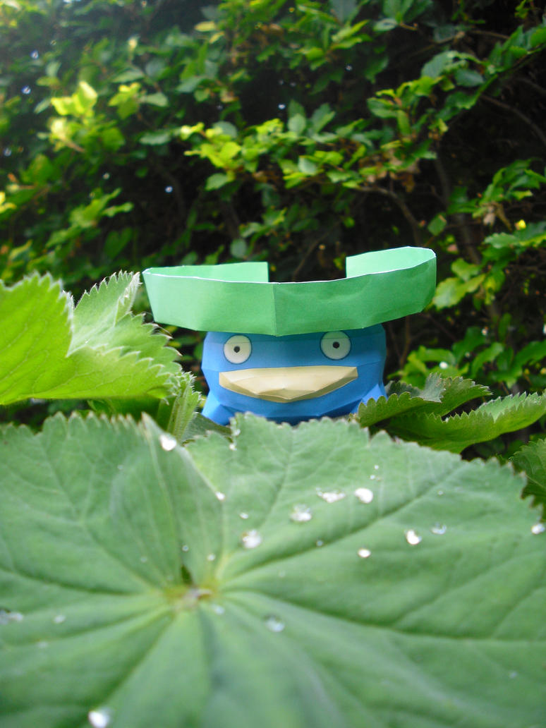 Lotad papercraft by TimBauer92