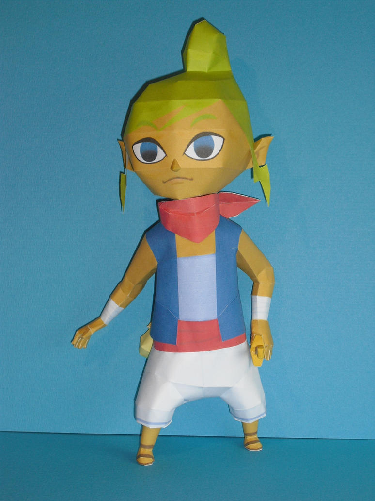 Tetra papercraft by TimBauer92