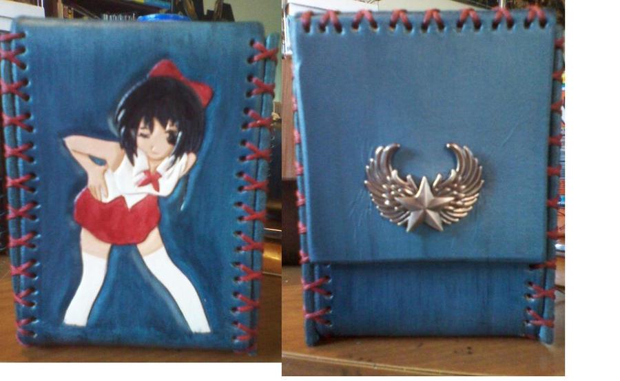 Anime Girl Card Game Deck Box By Murdocsluver On Deviantart