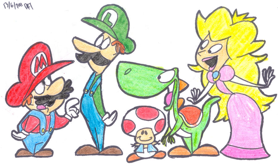 Limpurtikles Mario Colored: Mario HB- Colored By RJ-Streak On DeviantArt