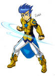 Flash's Special Costume - Royal Guard Captain