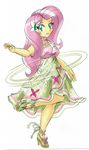 Fluttershy's Special Costume - Nature's Maiden