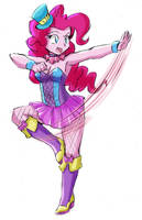 Pinkie Pie's Special Costume - Candy Circus by RJ-Streak