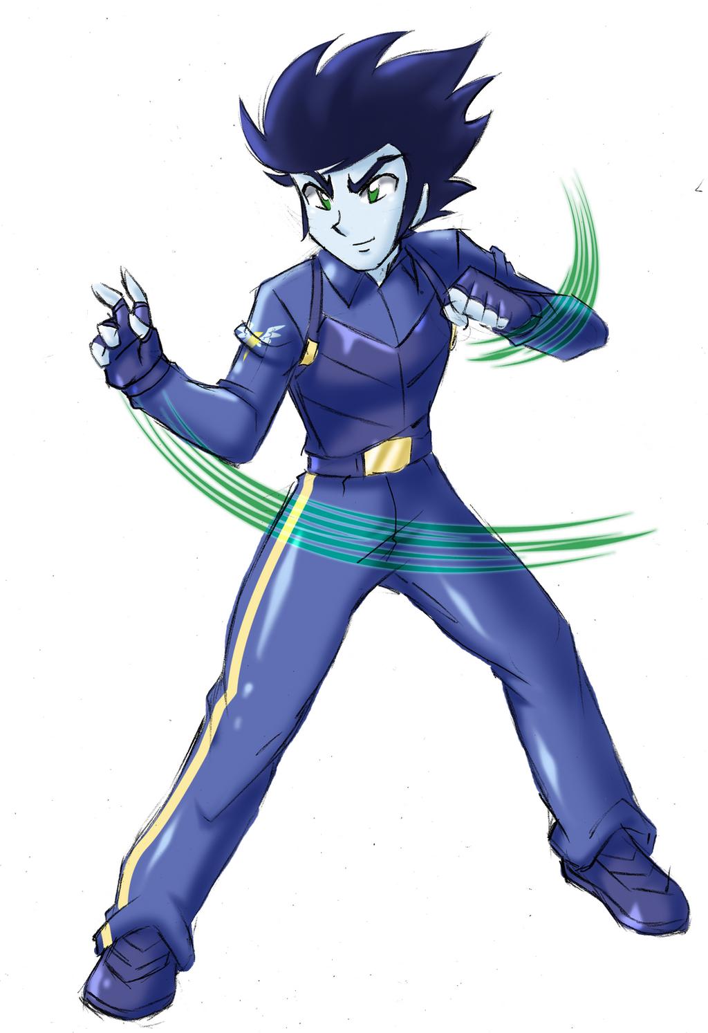 Soarin's Special Costume - Ace Pilot by RJ-Streak