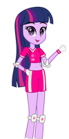 Equestria Strikers - Twilight Sparkle by RJ-Streak