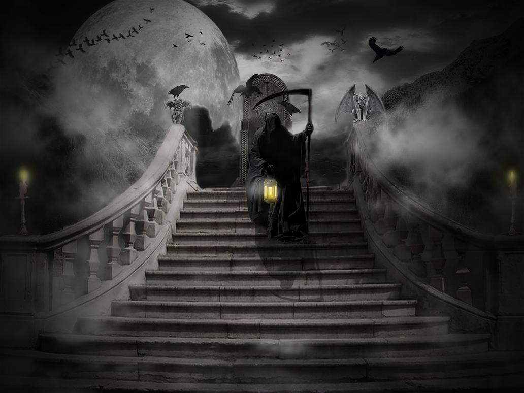Grim's nightout by deearison