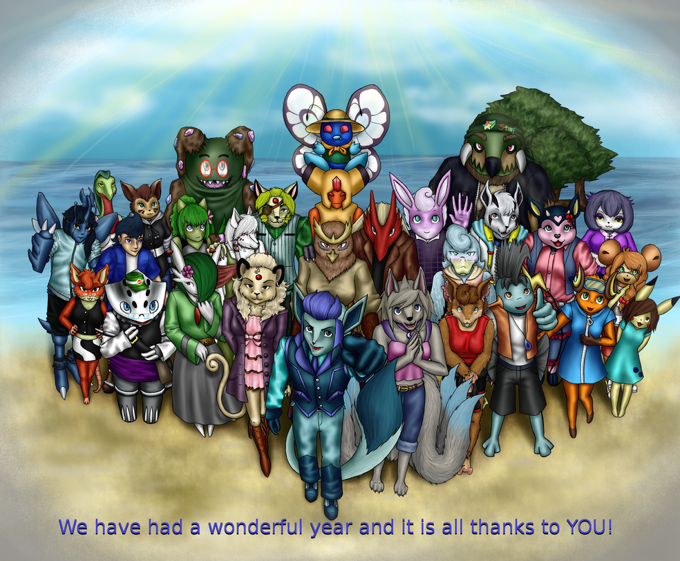 PKMC: Thanks for a wonderful year, everyone! by Bulbiekins