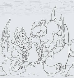SL: Collab Lineart: An Ancient Treasure!