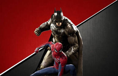 Batman and Spider-Man Wallpaper 5 by animeaful