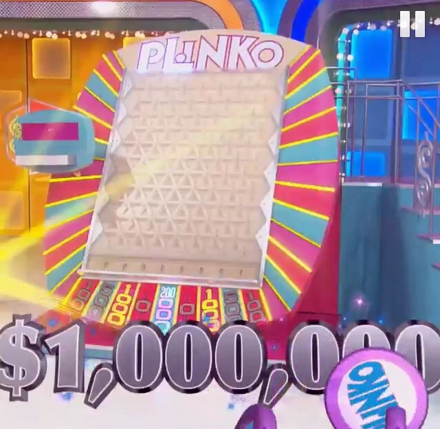 $1,000,000 Plinko, $200,000 space by carabao89