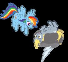 Rainbow Derp by SEVENFAWM